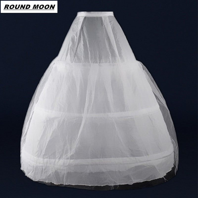 Weddings & Events Cheap Wedding Formal Dress Pannier Yarn 3 Wire 1 Hard Network Petticoat Petticoats