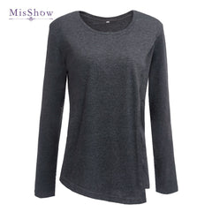 100% Real Sample Plus Size Pregnancy Autumn Spring 3/4 Sleeves Maternity Clothes Breastfeeding T-shirt Nursing Clothes for Women