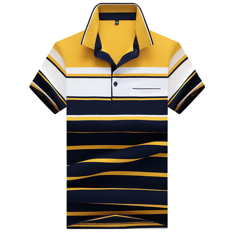 High quality Brand New Men Polo Shirts with pocket 2018 Summer Breathable Camisa Masculina Soft striped Polo Men