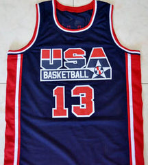 USA Dream Team Basketball Jersey Any Player or Number Custom Made - borizcustom - 3