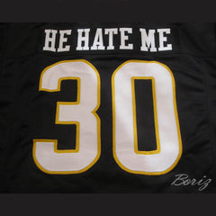 Rod Smart He Hate Me Football Jersey All Sewn LV Outlaw - borizcustom - 5