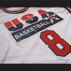 Scottie Pippen Dream Team 1992 Retro Jersey  USA 8 All Sizes - borizcustom - 3