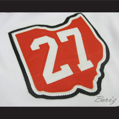 Gilles Meloche Hockey Jersey Stitch Sewn Cleveland Barons All Sizes New - borizcustom - 4