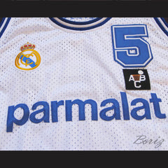 Drazen Petrovic Basketball Jersey Real Madrid Any Size New - borizcustom