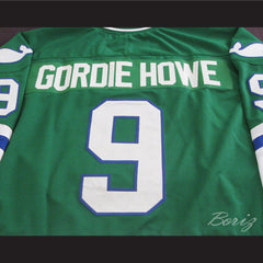 Gordie Howe Hartford Whalers Hockey Jersey Stitch Any Size Any Number Any Name New - borizcustom - 4