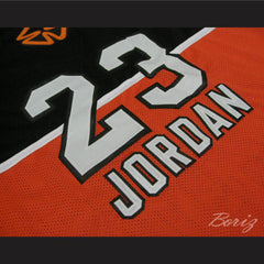 1985 Stefanel Trieste Michael Jordan 23 Exhibition Game Basketball Jersey Alternate Version - borizcustom