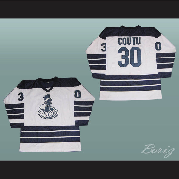 Richard Coutu 30 Cleveland Hockey Jersey Stitch All Sewn Any Size New - borizcustom - 1