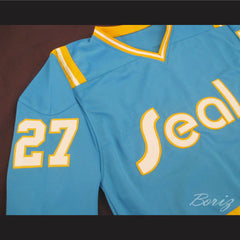 Hockey Legend Gilles Meloche 27 Hockey Jersey California Golden Seals - borizcustom - 4