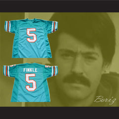 Ray Finkle 5 Novelty Football Jersey Ace Ventura Movie Reference Stitch Sewn New All Sizes - borizcustom - 3