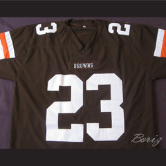 Lebron James 23 Football Jersey Reference to Commercial Spoof Career - borizcustom