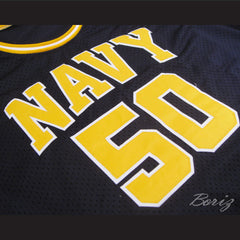 David Robinson 50 Navy Basketball Jersey Any Player or Number Stitch Sewn New - borizcustom