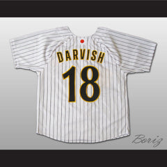 Pitcher Yu Darvish Japanese Baseball Jersey 18 Stitch Sewn New Any Size - borizcustom - 2