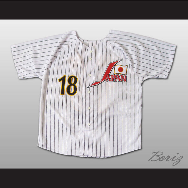 Pitcher Yu Darvish Japanese Baseball Jersey 18 Stitch Sewn New Any Size - borizcustom