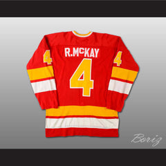 Ray McKay WHA Minnesota Fighting Saints Hockey Jersey Stitch Sewn New Any Size - borizcustom - 2