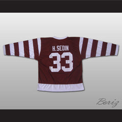 Henrik Sedin Vancouver MILLIONAIRES Hockey Jersey Stitch Sewn All Sizes New - borizcustom - 2