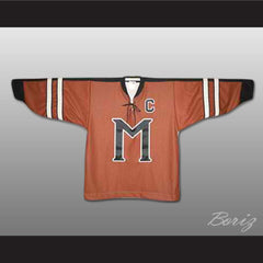 Russell Crowe John Biebe Mystery Alaska Hockey Jersey Stitch Sewn All Sizes New - borizcustom - 4