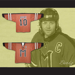 Russell Crowe John Biebe Mystery Alaska Hockey Jersey Stitch Sewn All Sizes New - borizcustom - 3