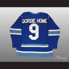 Gordie Howe 9 Retro Aeros Hockey Jersey Stitch Sewn All Sizes New - borizcustom