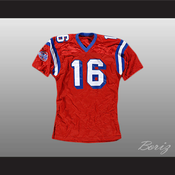 The Replacements Shane Falco Jersey 16 Sentinels Movie Any Size Any Player or Number - borizcustom