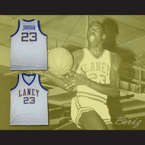 on sale 456f2 198e2 sweden emsley a. laney high school 23 michael jordan yellow ...