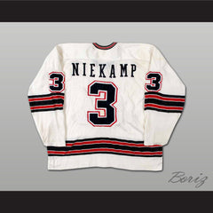 Jim Niekamp LA Sharks WHA Hockey Jersey All Sizes New Stitch Sewn - borizcustom