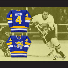 Mike Walton Minnesota Fighting Saints WHA Hockey Jersey New Stitch Sewn - borizcustom