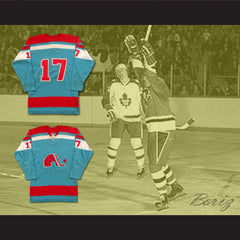 Yves Bergeron WHA Quebec Hockey Jersey Stitch Sewn NEW Any Size Any Player or Number - borizcustom - 3