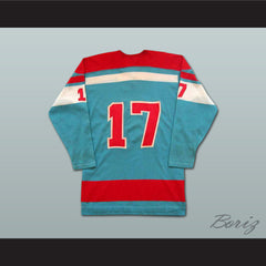 Yves Bergeron WHA Quebec Hockey Jersey Stitch Sewn NEW Any Size Any Player or Number - borizcustom - 2