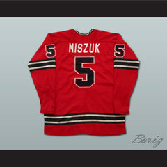 John Miszuk WHA Michigan Stags Hockey Jersey Stitch Sewn NEW Any Size Any Player or Number - borizcustom