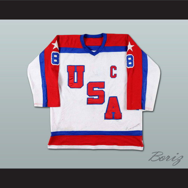 Phil Verchota US TEAM  Hockey Jersey Stitch Sewn NEW Any Size Any Player or Number - borizcustom - 1