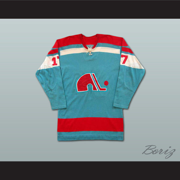 Yves Bergeron WHA Quebec Hockey Jersey Stitch Sewn NEW Any Size Any Player or Number - borizcustom