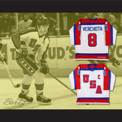 Phil Verchota US TEAM  Hockey Jersey Stitch Sewn NEW Any Size Any Player or Number - borizcustom - 3
