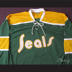 Walt McKechnie California Golden Seals Hockey Jersey Stitch Sewn New Any Player - borizcustom - 4