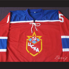 Andrei Khomutov 15 Red Army Hockey Jersey New Stitch Sewn Any Size Any Player - borizcustom