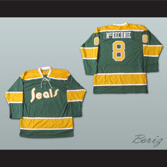 Walt McKechnie California Golden Seals Hockey Jersey Stitch Sewn New Any Player - borizcustom - 3