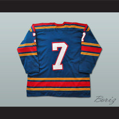 John Wright Kansas City Scouts Hockey Jersey NEW Stitch Sewn Any Size Any Player - borizcustom