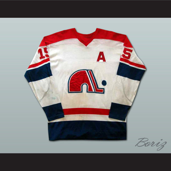 Rene Leclerc Quebec Nordiques Hockey Jersey NEW Stitch Sewn Any Size or Player - borizcustom - 1