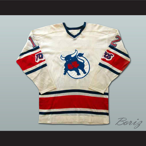 Tom Simpson Toronto Toros Hockey Jersey NEW Stitch Sewn Any Size or Player - borizcustom