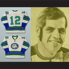 Alain Caron Oakland Seals Hockey Jersey Stitch Sewn NEW Any Size or Player - borizcustom