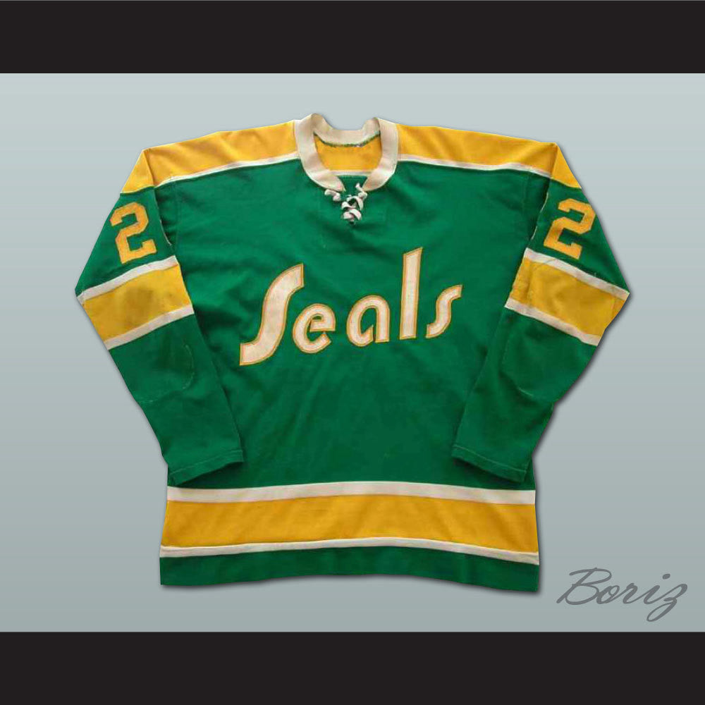 info for 24d27 c60c3 Joey Johnston California Golden Seals Hockey Jersey NEW Stitch Sewn Any Size