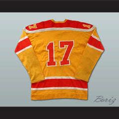 Don Herriman WHA Philadelphia Blazers Hockey Jersey Stitch Sewn NEW Any Size - borizcustom