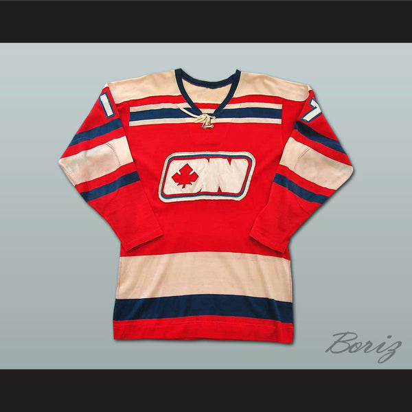 Tom Martin WHA Ottawa Nationals Hockey Jersey Stitch Sewn NEW Any Size or Player - borizcustom