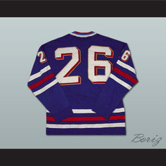 Peter Stastny 26 Czechoslovakia Hockey Jersey Stitch Sewn NEW Any Size or Player - borizcustom - 5