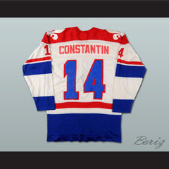 Charles Constantin Quebec Nordiques Hockey Jersey Stitch Sewn NEW Any Size or Player - borizcustom
