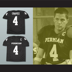 Friday Night Lights Brian Chavez 4 Football Jersey New Stitch Sewn Any Player - borizcustom