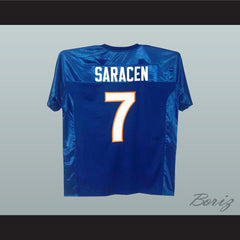 Friday Night Lights Matt Saracen 7 Football Jersey New Stitch Sewn Any Player - borizcustom