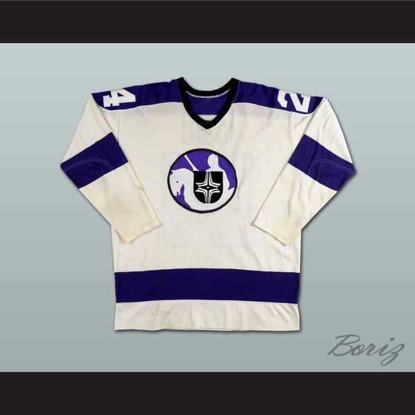 Ron Ward WHA Cleveland Crusaders Hockey Jersey NEW Stitch Sewn - borizcustom