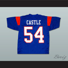 Thad Castle Blue Mountain State TV Show Football Jersey NEW Stitch Sewn - borizcustom - 5