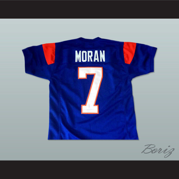 Alex moran 7 blue mountain state tv show football jersey for Pool show new jersey