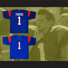 Harmon Tedesco 1 Blue Mountain State TV Show Football Jersey  New Any Size - borizcustom - 3